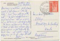 SCHWEIZ ORTSSTEMPEL ADELBODEN / SONNENPARADIES K1 SST 1965 AK Autoverkehr