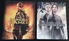 HUNGER GAMES 1 & 2 CATCHING FIRE Blu-Ray SteelBook Best Buy Exclusive Demo No DC