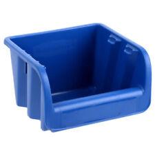 Cajas de almacenaje de color principal azul de plástico para el hogar