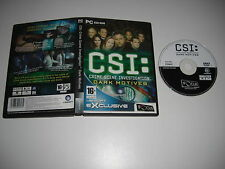 CSI DARK motives PC DVD ROM FO C.S.I. - Spedizione Veloce