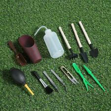 13PCS Mini Garden Hand Tools Transplanting Bonsai Succulent Plants Gardening Kit