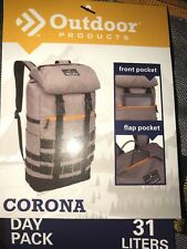 Outdoor Corona Day Pack 31 Liters Tactical Hiking School Camping Backpack Gray