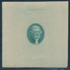 #67-E1e DIE ESSAY ON OLD THIN IVORY PAPER (GREEN) ORIGINAL 1861 BT845
