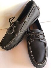 Size 13 West Marine Classic Leather Boat Shoes Comfort Original Non Marking Dock