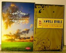 2 Pac Holy Bible NT ESV  & New Testament NKJV  New  FREE SHIPPING !!!