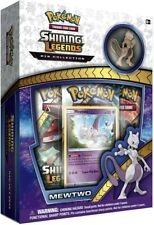 Pokemon Online Codes Shining Legends Mewtwo Promo Code + 3 Booster Pack Codes
