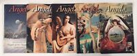 LOT OF 5 GUIDEPOSTS ANGELS ON EARTH MAGAZINES 1998-1999 CHRISTIAN FAITH STORIES