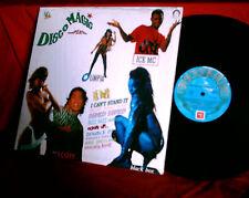 DISCOMAGIC comp. vol. 1 RARE Italo Disco LP SEXY cover