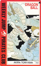 WEEKLY JUMP DRAGON BALL PIRATES ANIME MINT UNUSED PHONECARD FROM JAPAN (21 JAN)