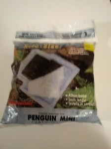 NEW - 3 Pack Marineland Filter Cartridges for Penguin Mini & 100 Rite Size A