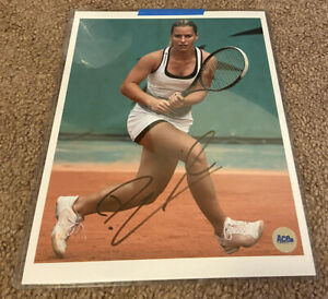 Dominika Cibulkova Signed ACE AUTHENTIC SECRET SIGNATURES 8x10 Photo