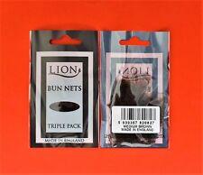 6 x Bun Nets Ballet / Dance (2 x 3 pack) Light Brown
