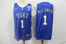 NWT Duke Blue Devils Zion Williamson #1 mens jersey S-2XL