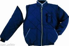 Men's Polyester Zip Neck Bomber, Harrington Coats & Jackets