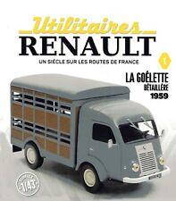 1/43 eme  IXO -HACHETTE - CAMIONNETTE RENAULT GOELETTE BETAILLERE 1959