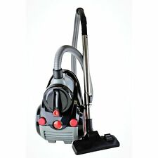 Cyclonic Bagless Canister Vacuum Cleaner w Hepa Filter Carpet Floor Corded Vac