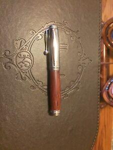 Jean Pierre Lepine Limited Edition Wood Fountain Pen 2000