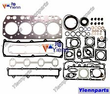 For Yanmar 4TN100 4TN100T Overhaul Head Gasket Set Kit Fit CA1200 Tractor Engine