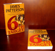 The 6th Target, James Patterson ** Signed 1st Edition + Uncorrected Proof * ARC