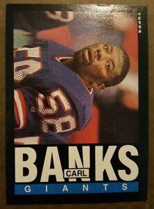 1985 Topps #111 Carl Banks Rookie Football card New York Giants!