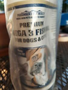 Paramount Premium Omega 3 Fish Oil For Dogs And Cats.32 oz. Pump top.