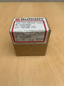 "New Burndy U162 Crimper / Crimping Die ""U"" Style Installation Die  Free Shipping"