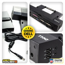 DELL Latitude E6400 E6430 E6530 E6540 E-PORT PLUS Dock Replicator Station + 130W