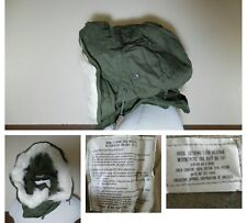 VTG MILITARY1984 SNORKEL HOOD ONLY Extreme Cold Weather Synthetic Fur Ruff OG107