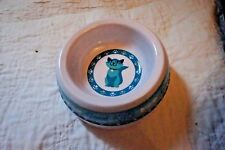 New Good Kitty Cat Bowl Water Bowl Feeder Bowl Plastic