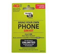 Straight Talk Bring Your Own Phone BYOP Verizon Activation Kit (4G LTE & 3G CDMA)