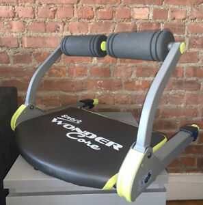 Wonder Core 6-in-1 Smart Body Fitness Workout Home Machine Ab Exerciser Trainer