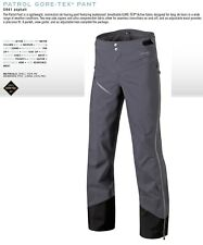 NEW Dynafit Patrol GTX Mens XS Grey Gore-tex Lightweight Ski Pants Msrp$380