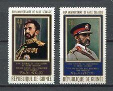 27277) GUINEA 1972 MNH** Nuovi** Haile Selassie 2v