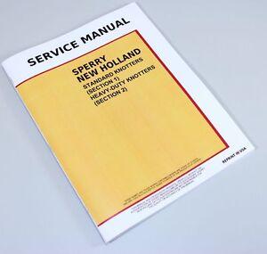 NEW HOLLAND 275 311 316 565 SQUARE BALER KNOTTER SERVICE REPAIR SHOP MANUAL