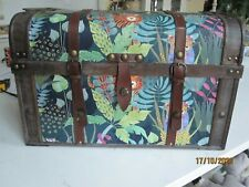 TOY BOX. TREASURE CHEST. JUNGLE THEME. NEW.