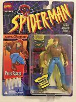 Peter Parker SPIDERMAN Animated Series Action Figure 94 Marvel Comics ToyBiz NEW