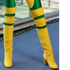 Womens Block Heel Round Toe Over-Knee High Boots Casual Boots Cosplay Size 34-45