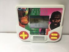 Michael Jordan In Flight Tiger Basketball Electronic Handheld Travel Game Works