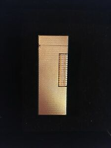 Vintage Gold Plated Dunhill Rollagas lighter