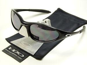 Oakley Minute Black Sonnenbrille Badman Straight Jacket Plate Twenty Splice Five