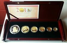 2010 China Panda Gold and Lunar Tiger Premium Set