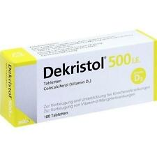 DEKRISTOL 500 I.E. Tabletten 100 St PZN 10068921