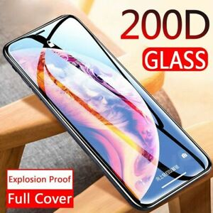 Phone Curved Full Cover Protective Tempered Screen Protector Film For iPhone
