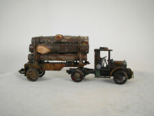 On30 or O scale custom weathered Logging Truck