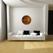 Firefly Serenity Logo Repositionable Wall Decal Sticker-TV Sci-Fi-SHINY