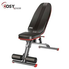 Foldable Bench Weight Training Fitness 6 Incline Adjust Workout Gym Abs Chest