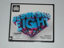 Ministry Of Sound SESSIONS EIGHT 2CD Mixed by SAM LA MORE / TOMMY TRASH