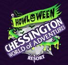 2 x Chessington E-Tickets - Wednesday 27th October - Trusted Seller- HOWL'O'WEEN