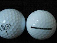 "10  ""VICE DRIVE"" -Golf Balls  - ""PEARL""  Grade."