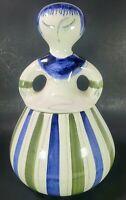 Rare Hedi Schoop Darner Doll Cookie Jar Los Angeles Potteries #64 Vintg Ceramic